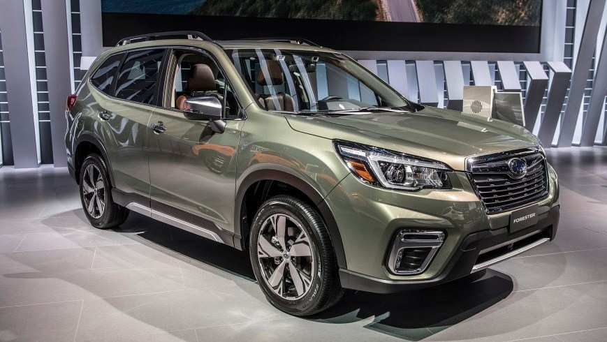 90 The Best Subaru Forester 2020 Release Date Spy Shoot