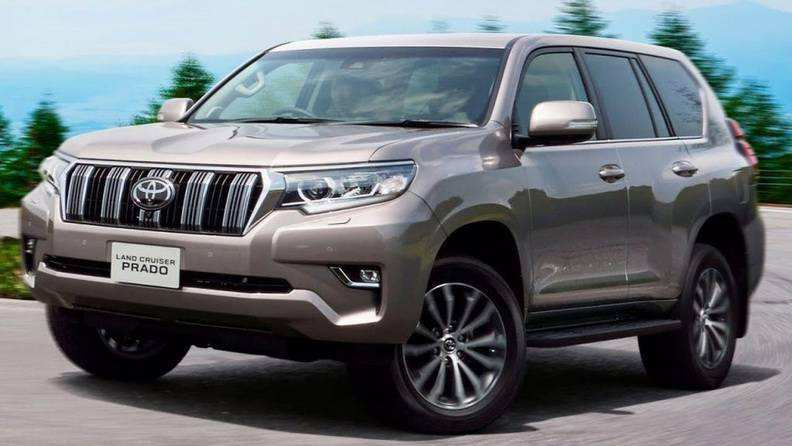 90 The Toyota Prado 2020 Spy Shots New Model And Performance