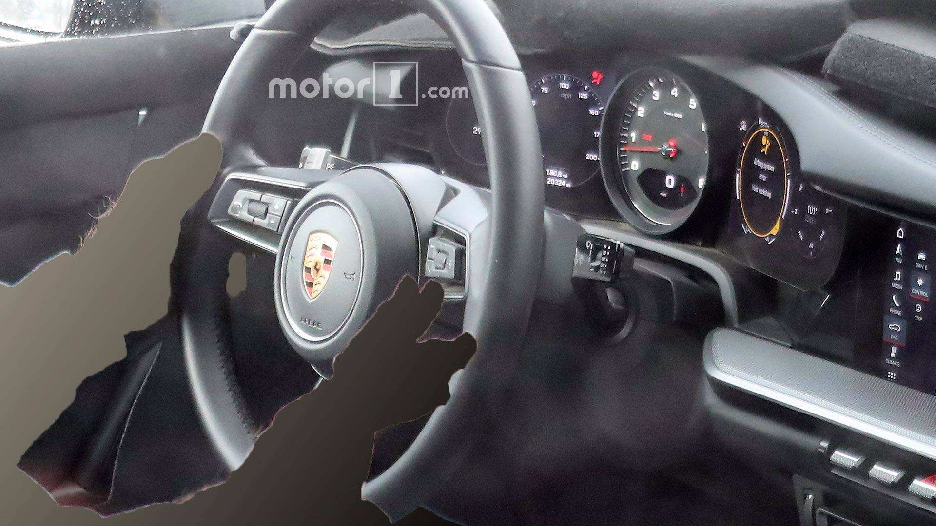 91 A 2019 Porsche 911 Interior Engine