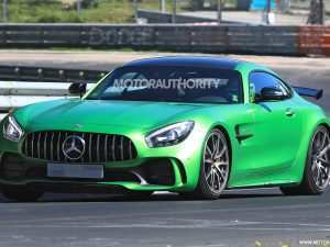 91 A Mercedes 2019 Amg Gt Spy Shoot