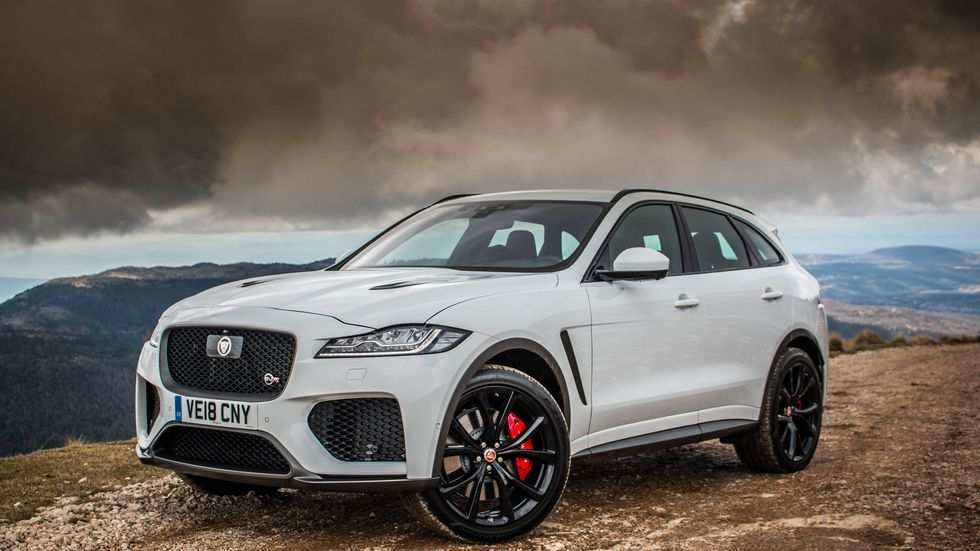91 All New Jaguar 2019 F Pace Redesign