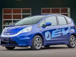 Honda Fit Electric 2020