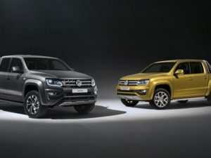 91 The Volkswagen Amarok V6 2020 Speed Test