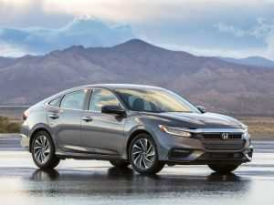 92 A 2019 Honda Insight Performance and New Engine