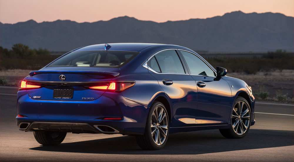 92 New Lexus 2019 F Sport Model