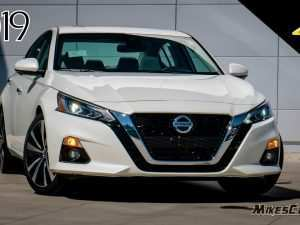 92 The 2019 Nissan Altima Platinum Vc Turbo Redesign and Review