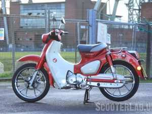 93 A 2019 Honda Super Cub Top Speed Performance