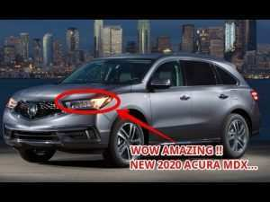 93 A All New Acura Mdx 2020 New Concept