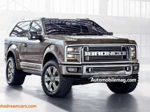 93 All New 2019 Ford Bronco Images Release Date and Concept