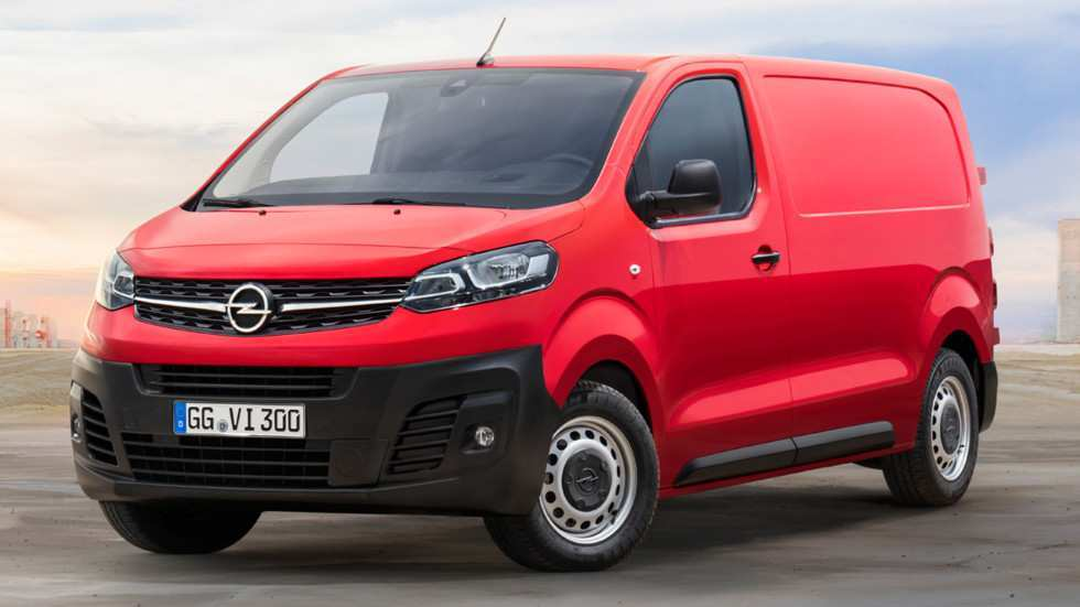 93 All New New Opel Vivaro 2020 Model