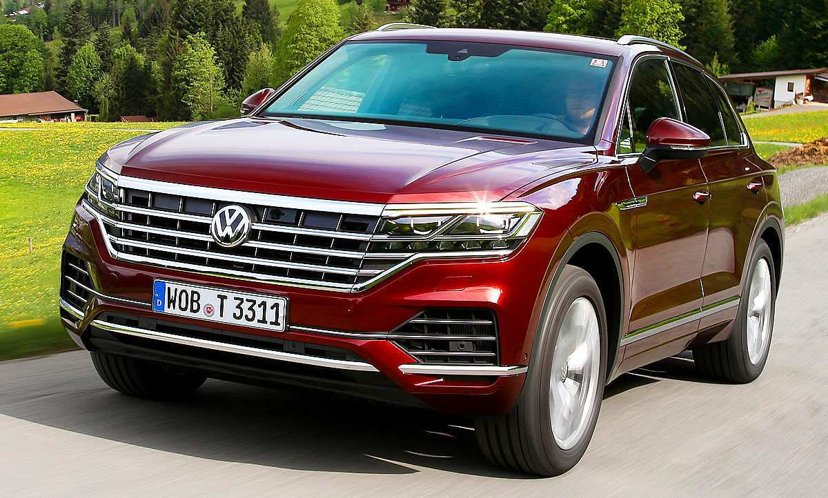 93 All New Touareg Vw 2019 Spy Shoot