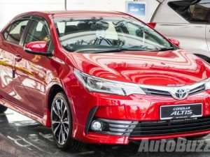 93 All New Toyota Altis 2020 Malaysia Research New