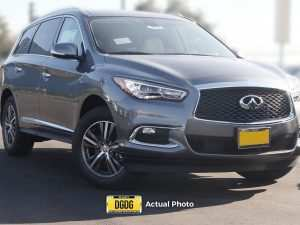 2020 Infiniti Qx60 Spy Photos