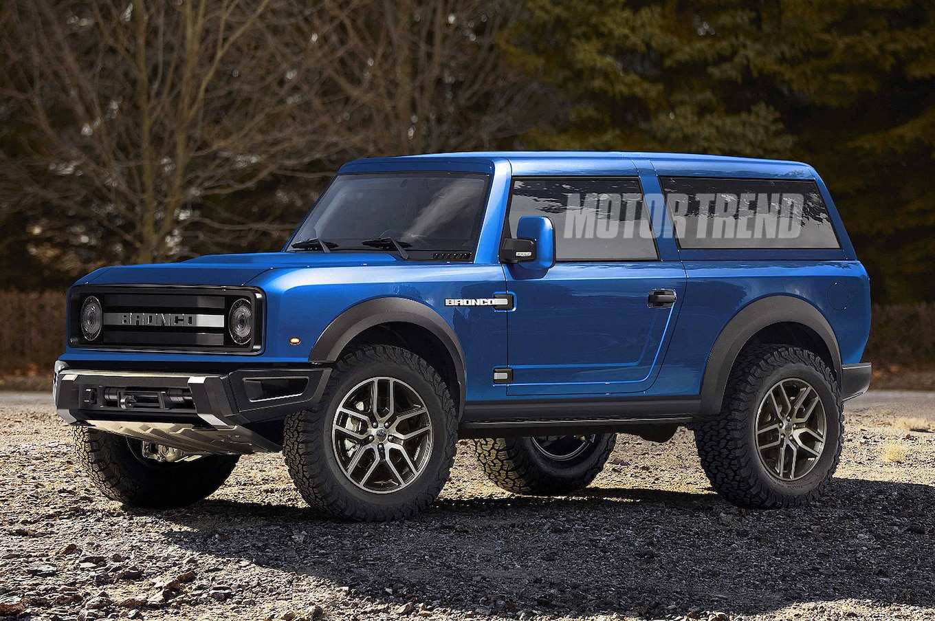 93 New Pictures Of The 2020 Ford Bronco Rumors