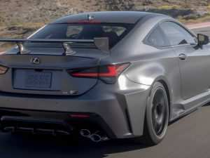 93 The Best 2020 Lexus Rc F Track Edition 0 60 Exterior and Interior