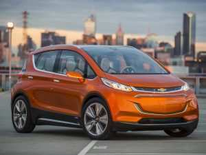 93 The Chevrolet Bolt Ev 2020 Concept