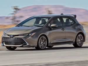 94 A 2019 Toyota Corolla Hatchback New Review