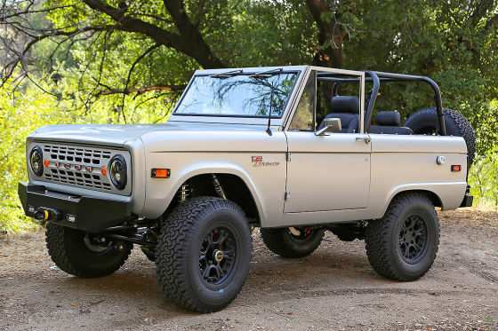 94 All New Jeep Bronco 2020 Exterior