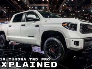 94 Best Toyota Tundra Trd Pro 2019 New Concept