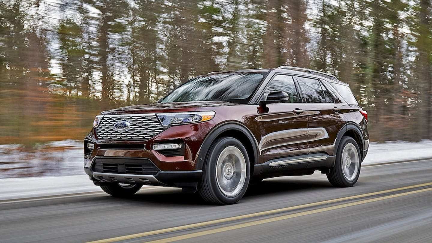 94 New 2020 Ford Explorer Redesign