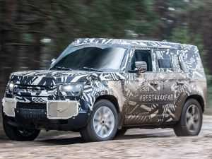 2020 Land Rover Truck