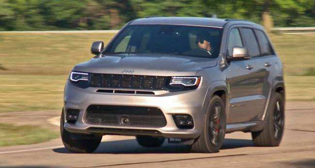 94 New New 2020 Jeep Grand Cherokee First Drive