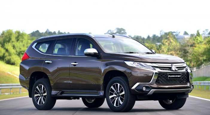 94 The Best 2020 Mitsubishi Pajero Sport Facelift First Drive