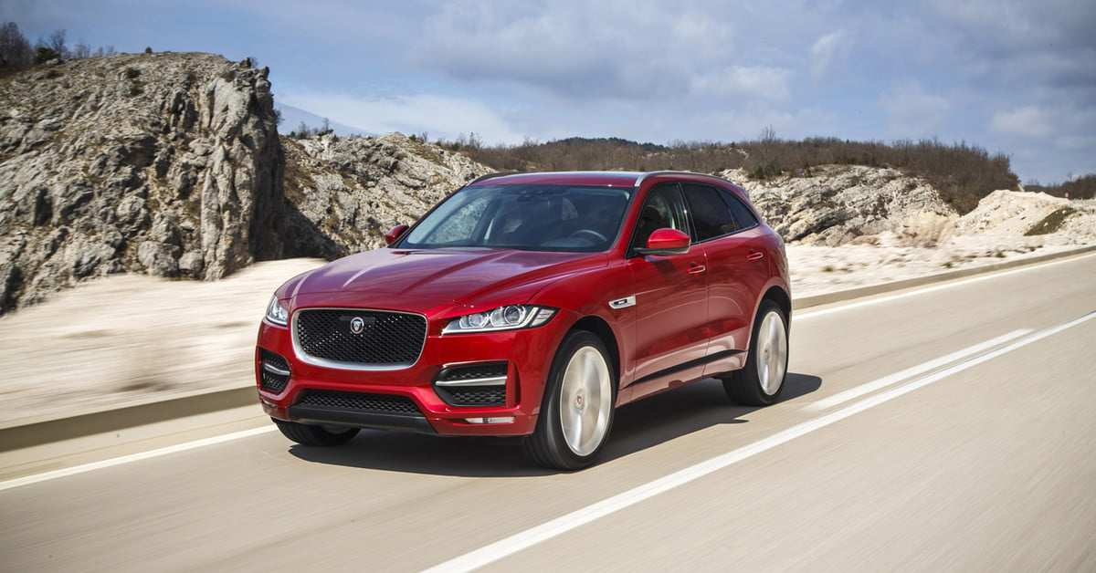 95 A 2020 Jaguar F Pace Hybrid New Model And Performance