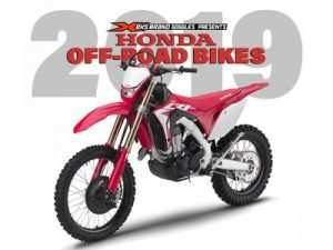 95 All New 2019 Honda Dirt Bikes Redesign and Review