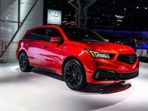 95 All New Honda Mdx 2020 Review and Release date