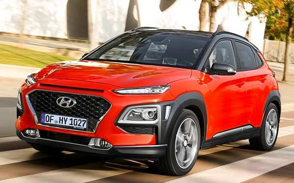 95 All New Hyundai Kona 2020 Interior
