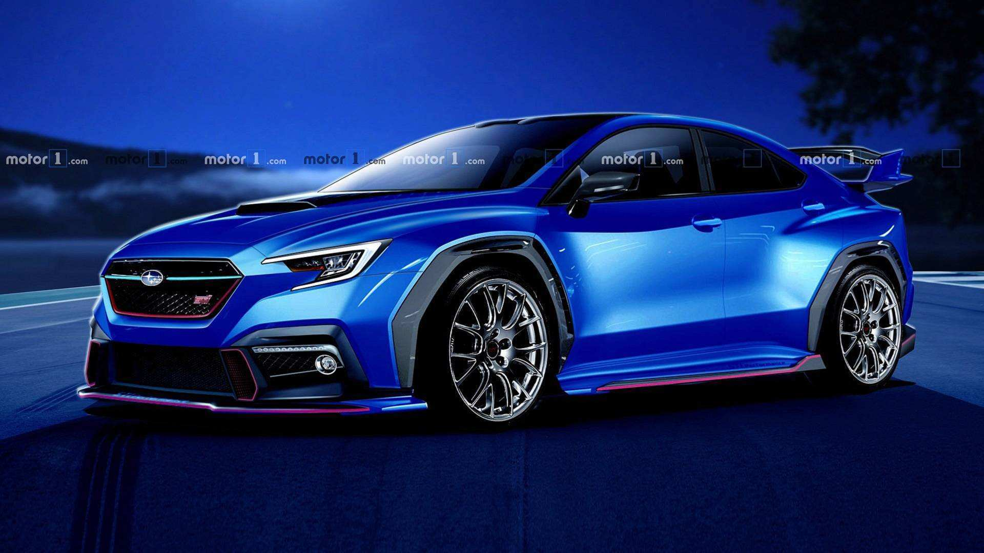 95 All New Subaru Viziv Sti 2020 Exterior