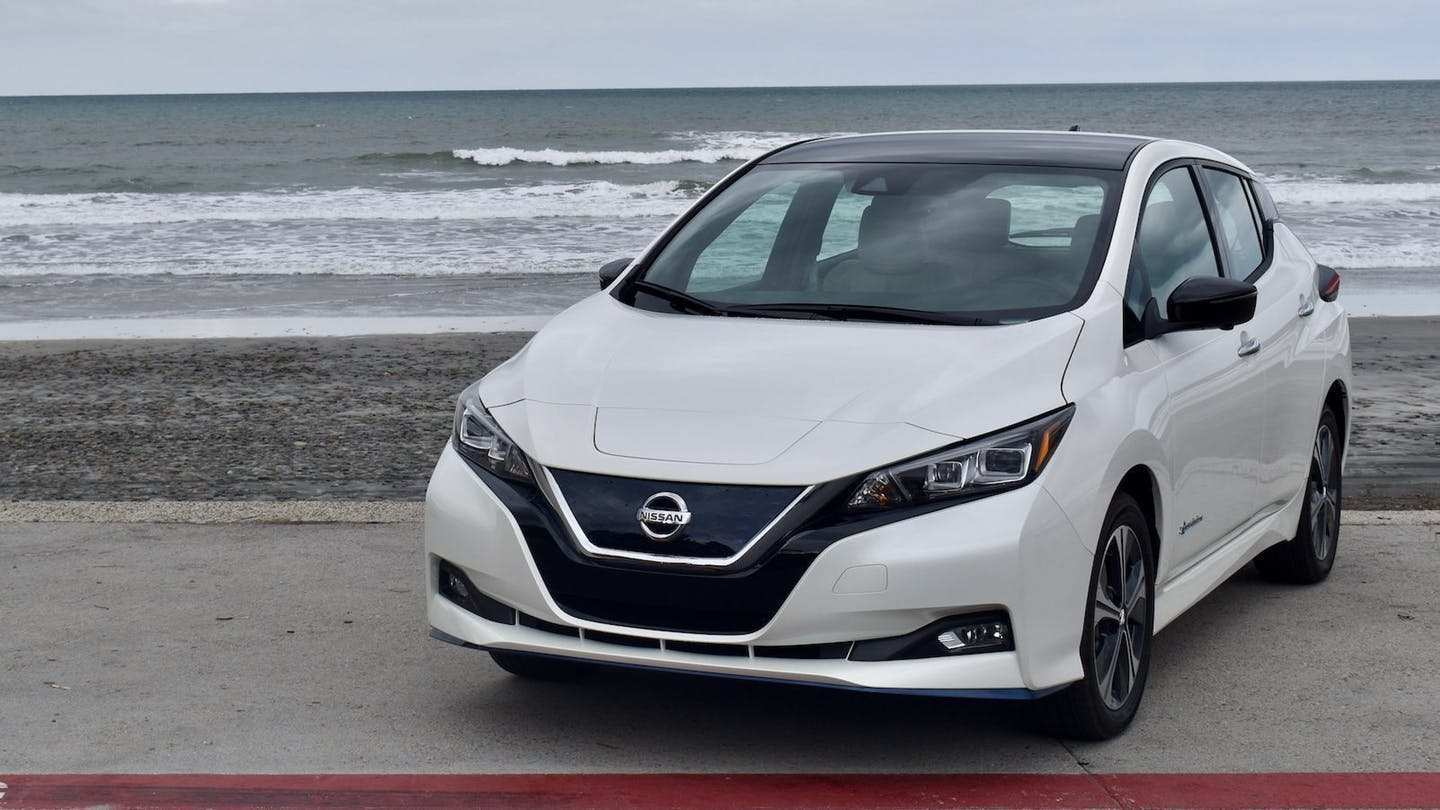 95 The Best Nissan Leaf 2019 Review Photos