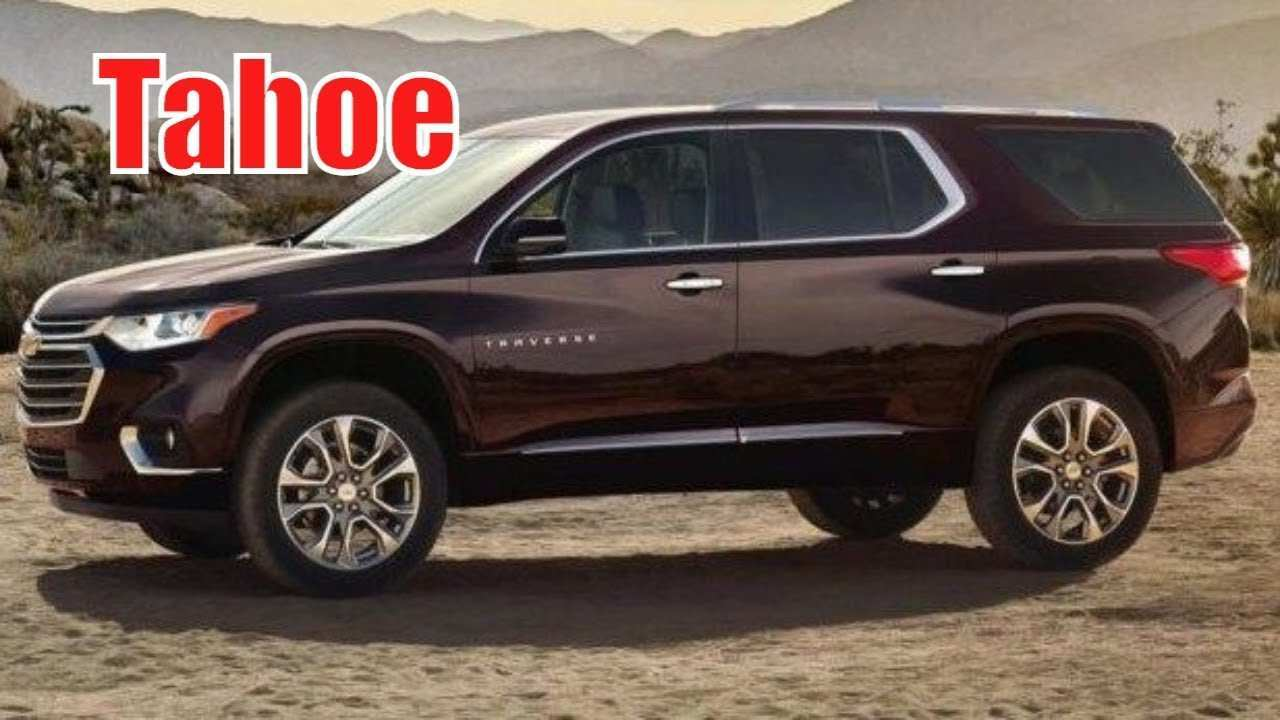 95 The Best When Will The 2020 Chevrolet Tahoe Be Released Exterior And Interior