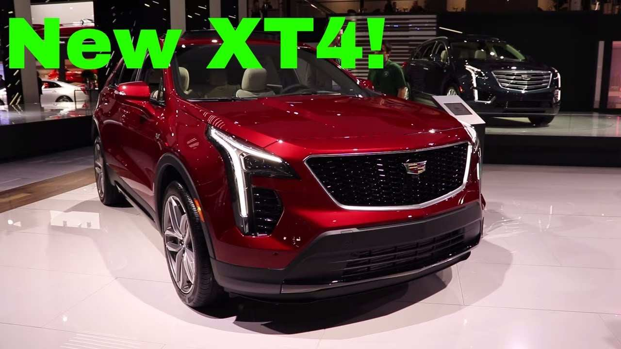 95 The Cadillac Xt4 2020 Spy Shoot
