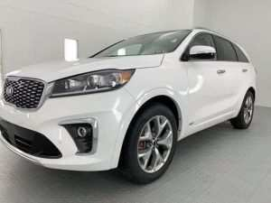 95 The Kia Sorento 2019 White New Review