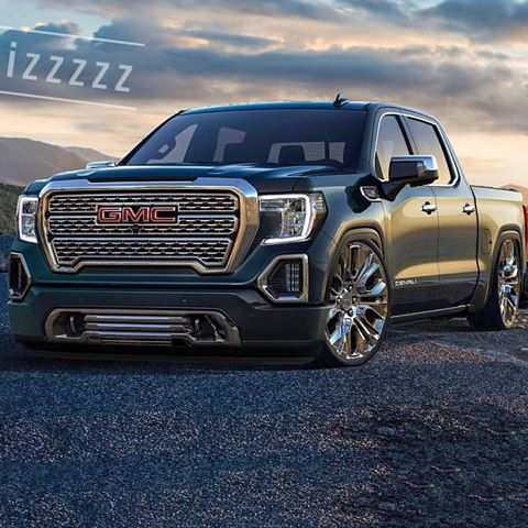 96 A 2019 Gmc Sierra Rendering Exterior and Interior