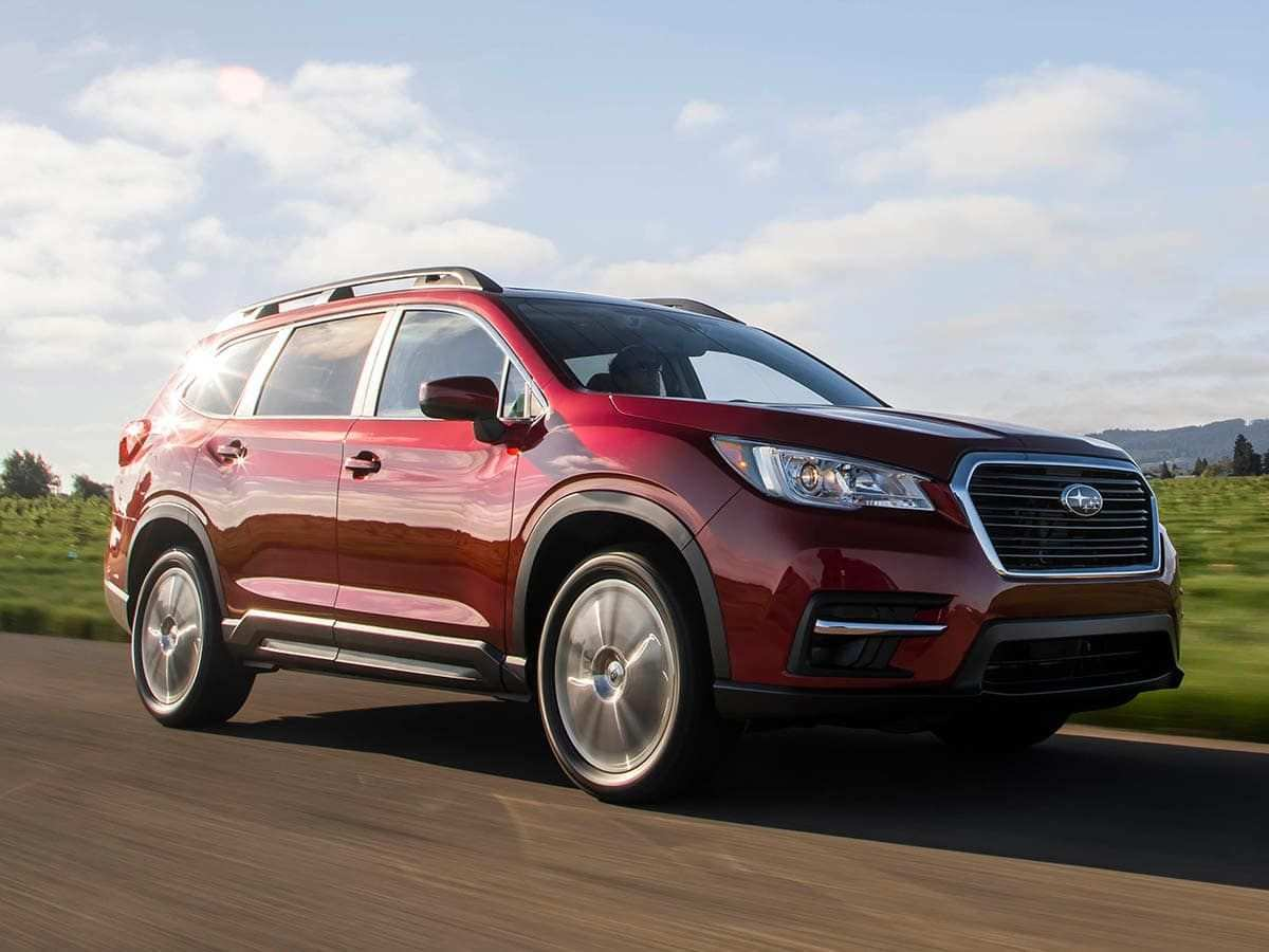 96 A 2019 Subaru Ascent Kbb Spy Shoot
