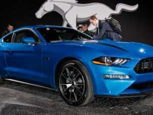 96 A 2020 Ford Mustang Release