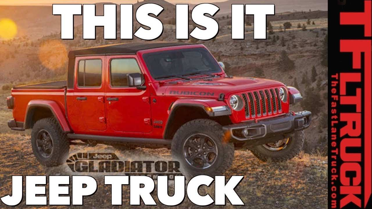 96 All New 2020 Jeep Gladiator Youtube Model