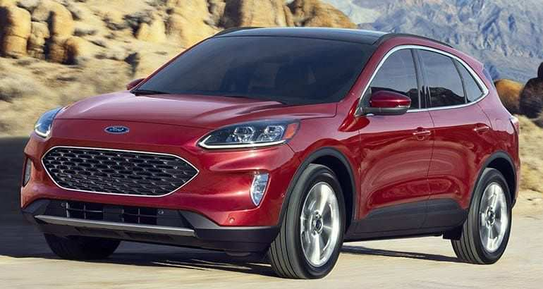 96 All New Ford New Escape 2020 New Review