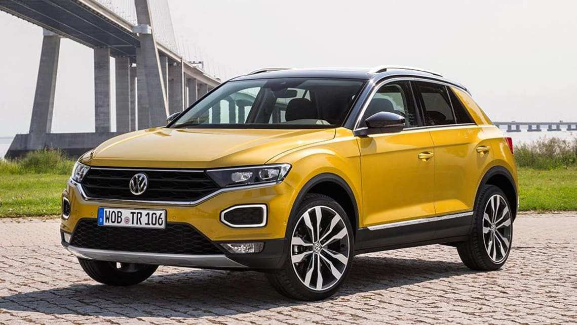 96 All New Volkswagen T Roc 2020 Photos