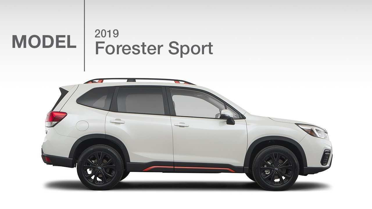 96 The 2019 Subaru Forester Sport Redesign And Concept