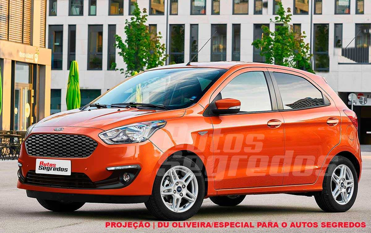 96 The Ford Ka 2019 Facelift Style