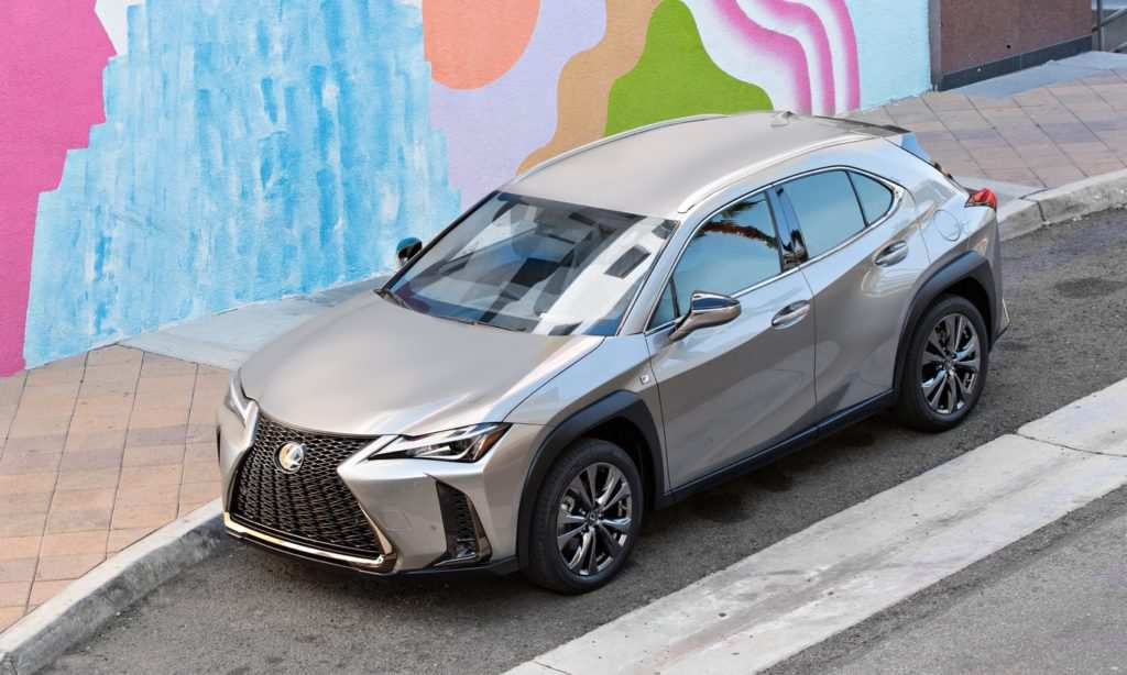 96 The Lexus Electric 2020 First Drive