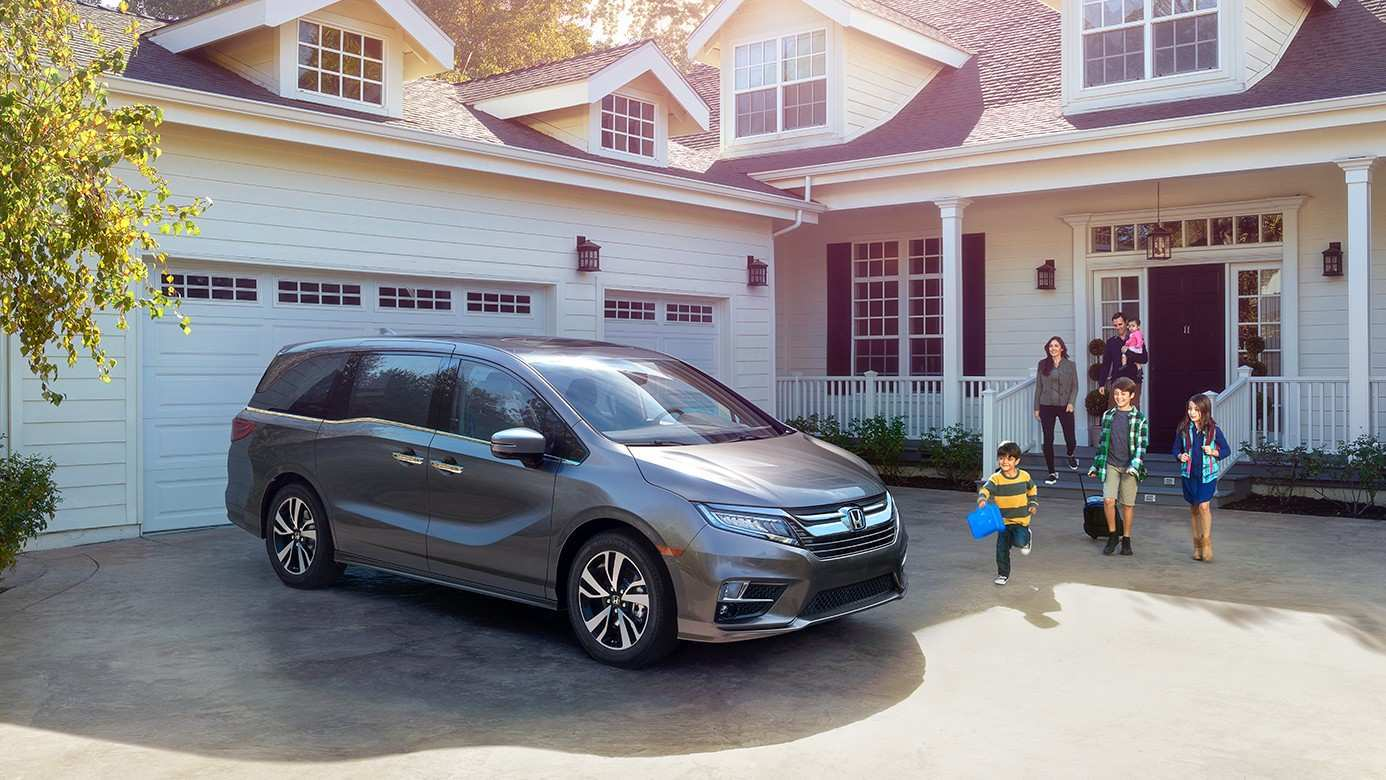 97 All New 2019 Honda Odyssey Release Style