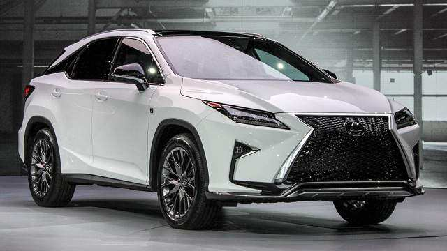 97 All New Lexus Rx Facelift 2019 Redesign And Concept