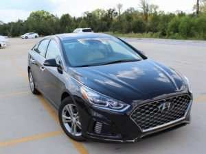 97 New 2019 Hyundai Sonata Limited Spy Shoot