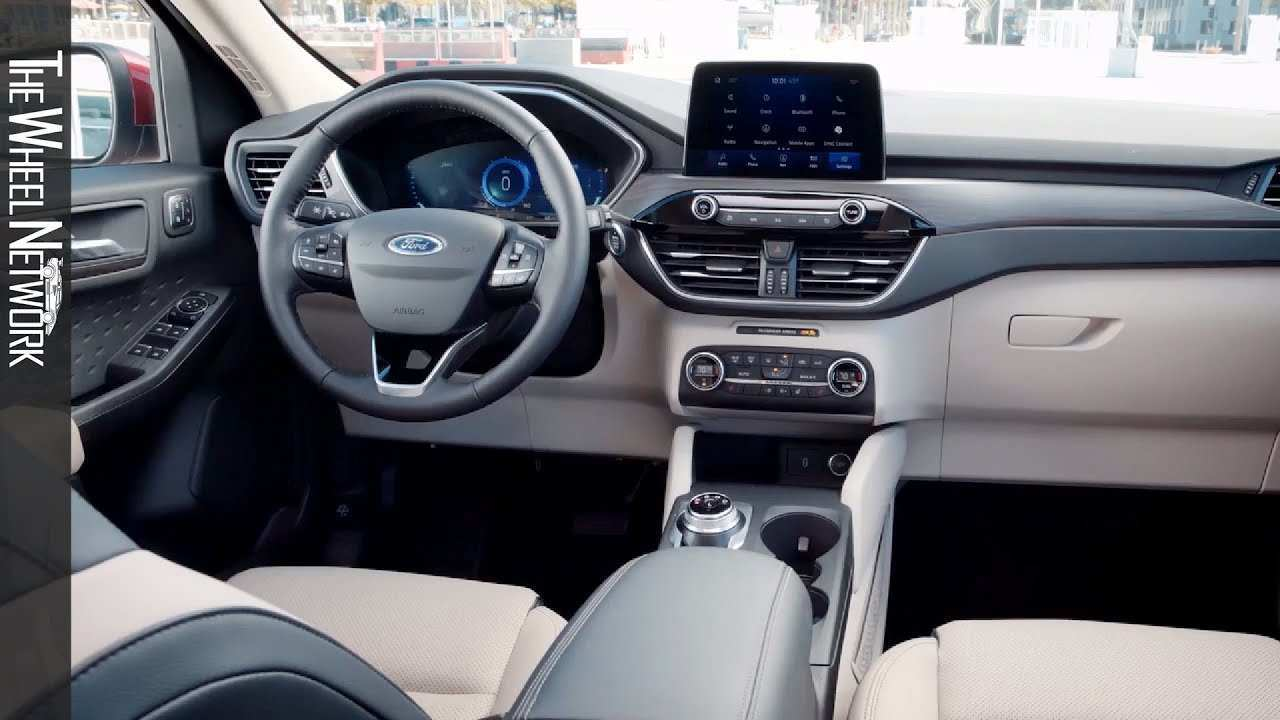 97 The Best 2020 Ford Escape Interior Release Date And Concept