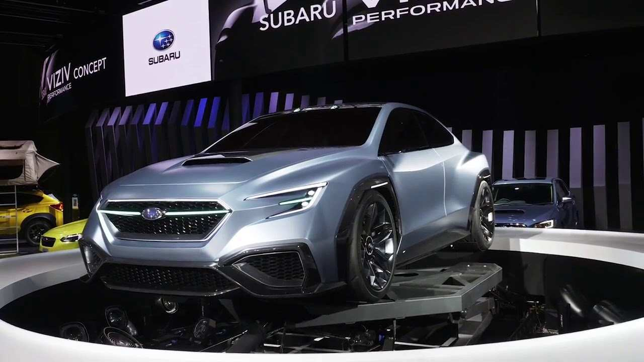 97 The Best Subaru Wrx 2020 Concept Price And Release Date
